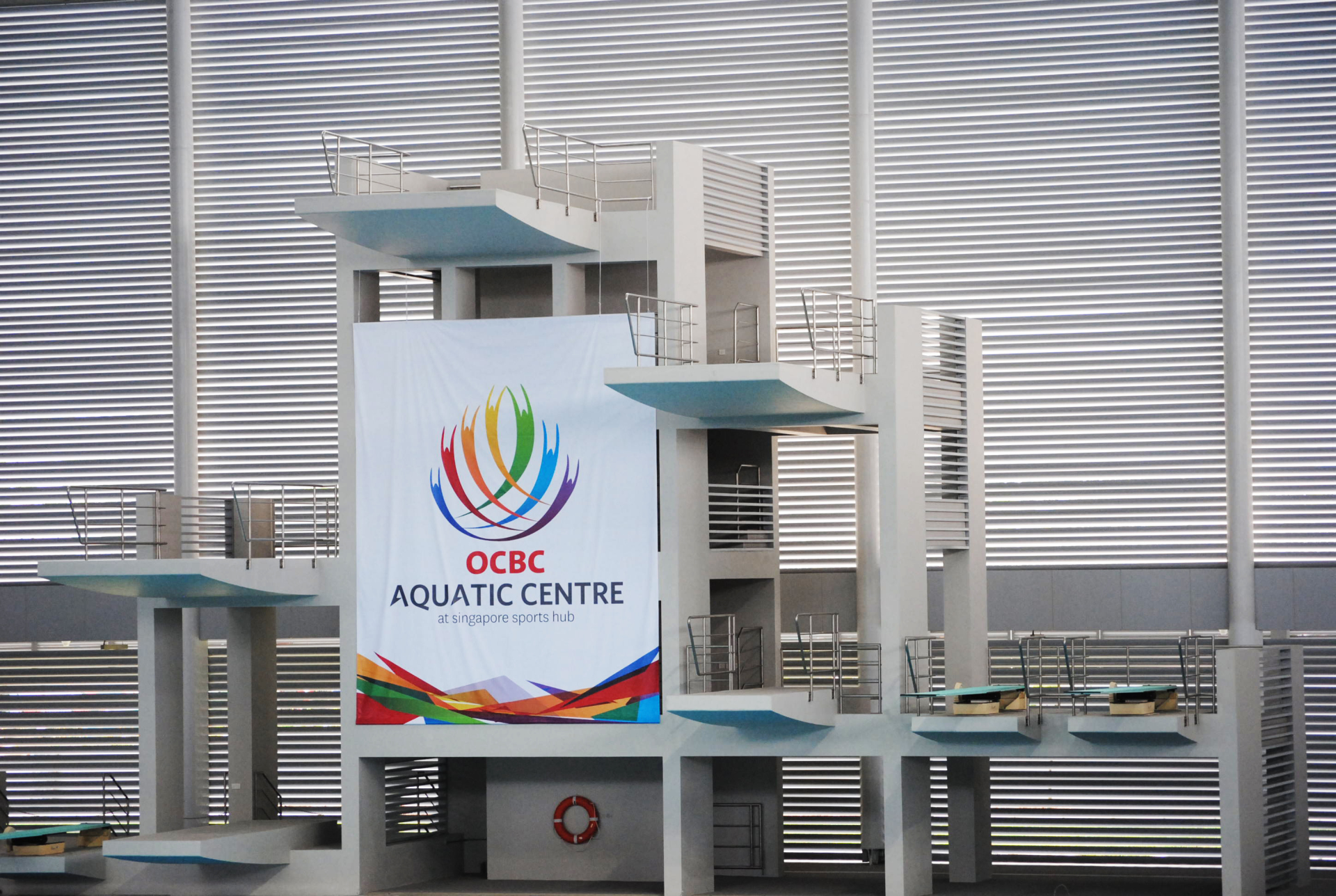 DIVING PLATFORM RAILINGS @ OCBC AQUATIC CENTRE
