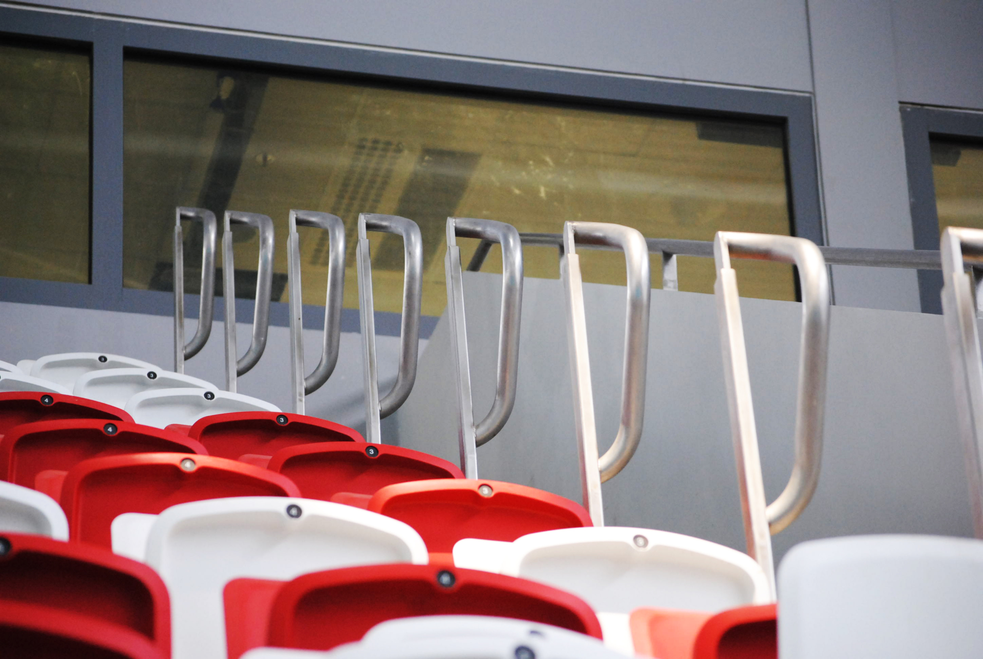 SEATING AREA RAILINGS @ SINGAPORE SPORTS HUB