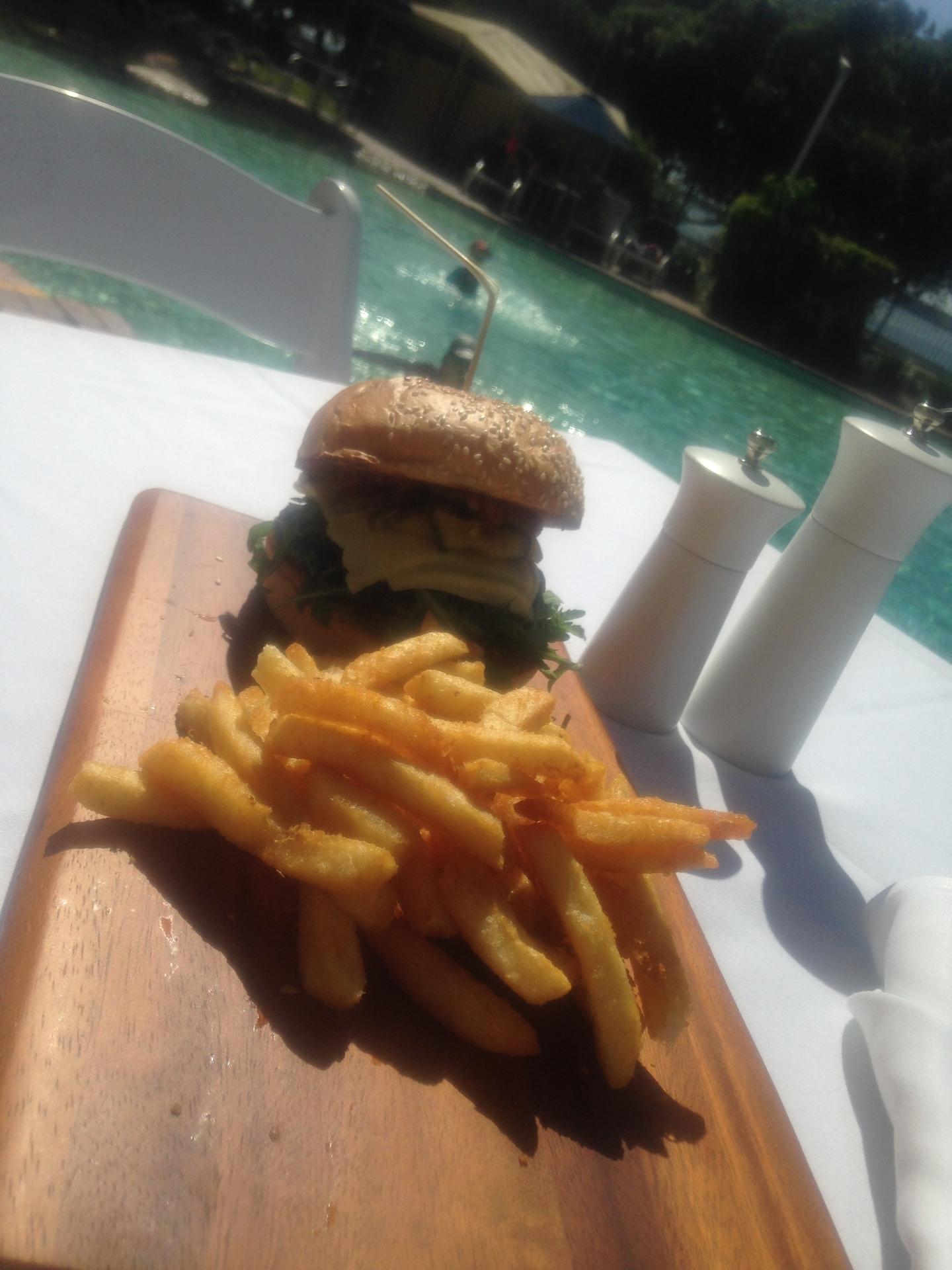Poolside Burgers