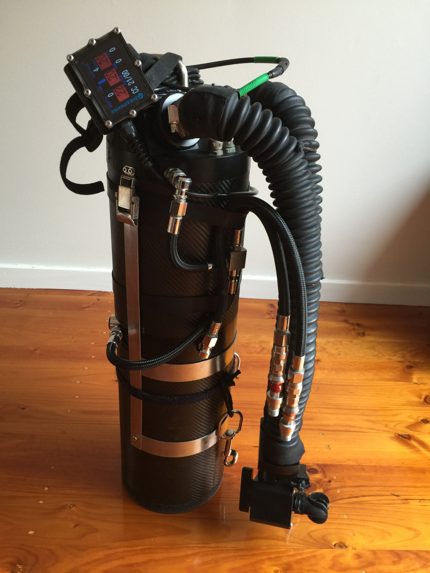 SF2 Sidemount eCCR Dive Can Petrel 2 FOR SALE