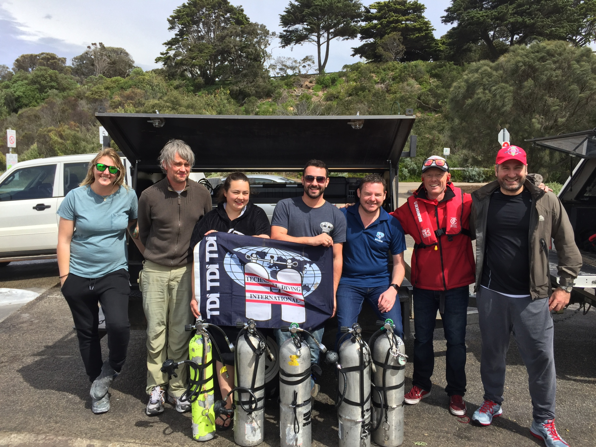 Melbourne TDI Advanced Nitrox Decompression course completed