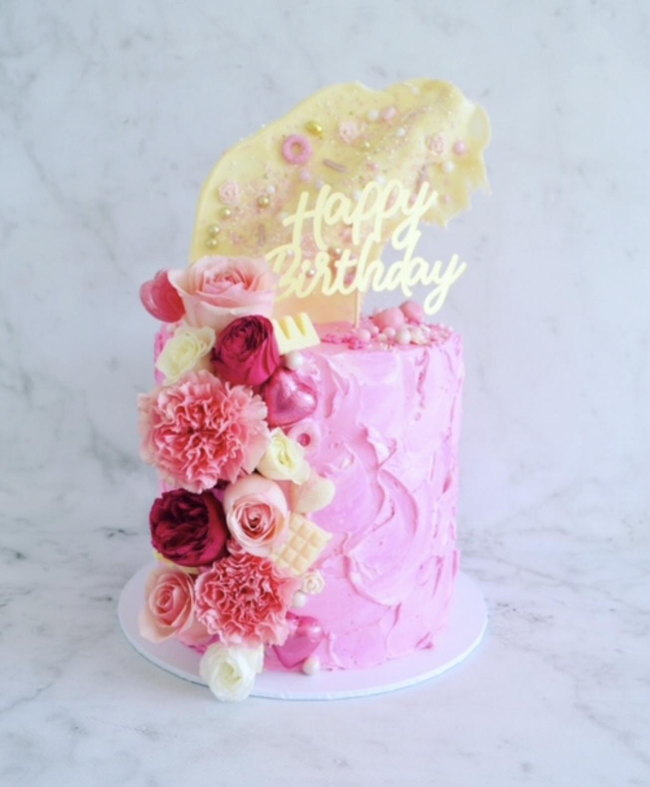 The HAPPY BIRTHDAY Cake