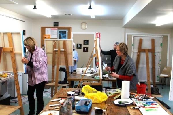 ADULTS ART CLASSES CHRISTCHURCH