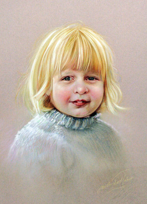 Pastel portrait -Commission