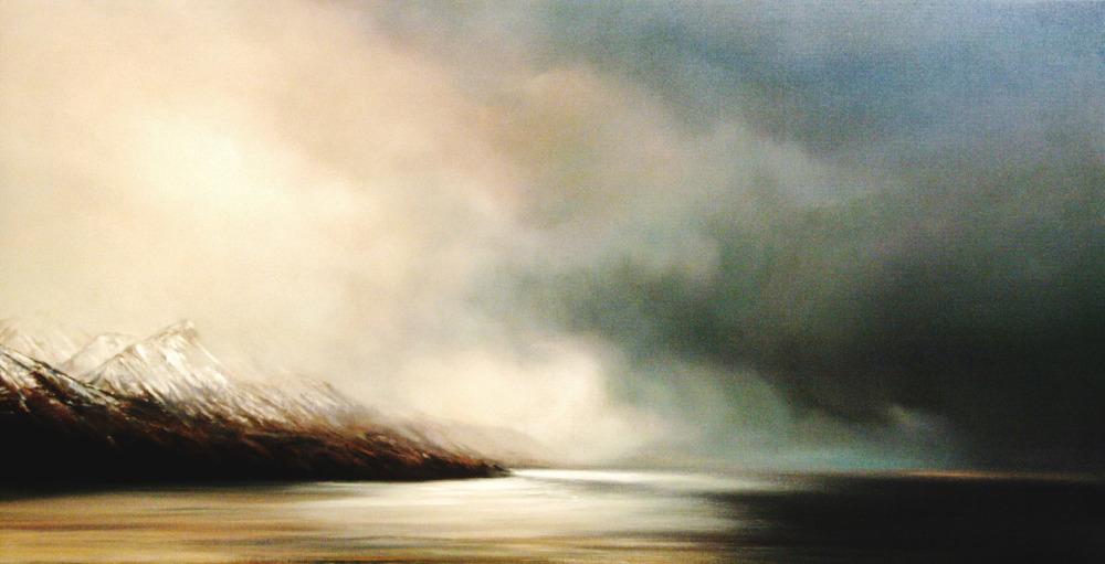 Landscape paintings by Mehrdad Tahan