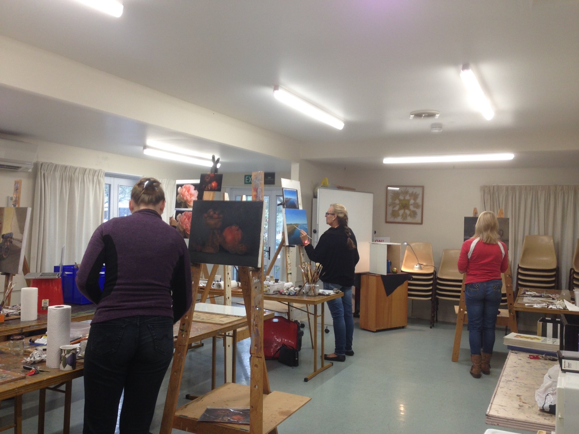 Art Classes, 2017, Tahan Art Studio, Christchurch