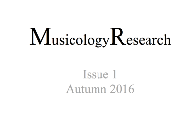 Issue 1, Autumn 2016