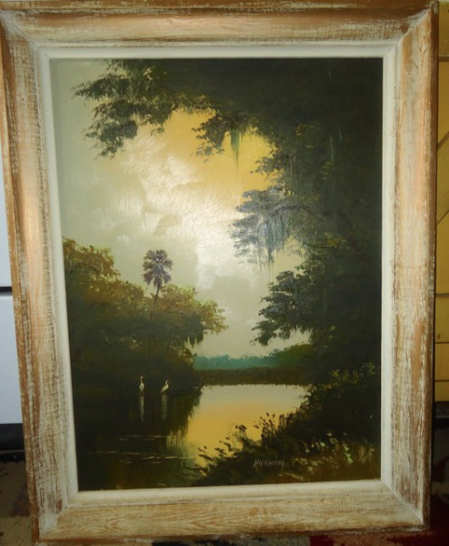 Original Florida Highwaymen Painting