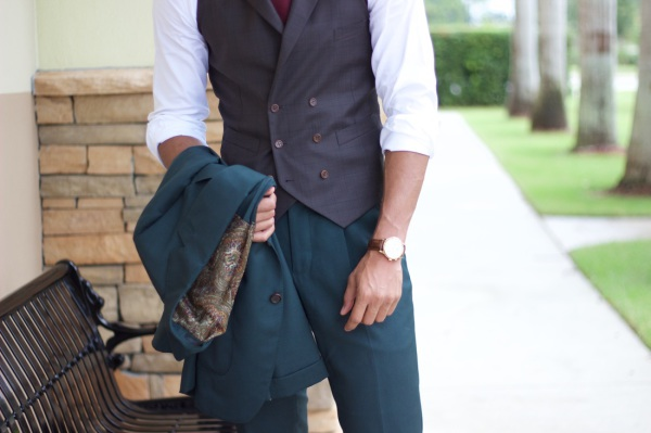 How to Style a Vest With Lapels