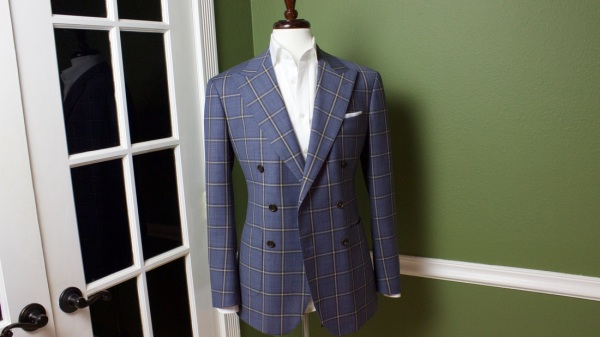 The Double Breasted Suit Jacket