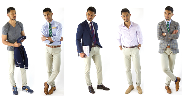 How to Wear Chinos 5 Ways