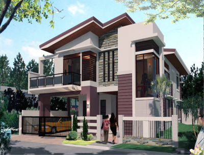 Single-modern 2 storey house