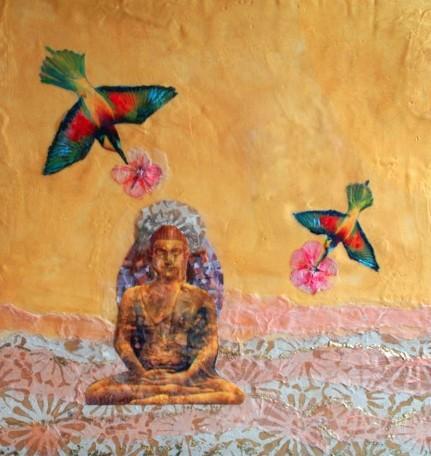 Hummingbird Buddha