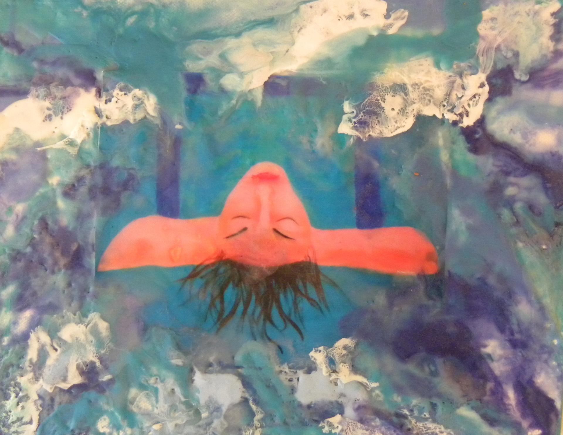 Meditation Swimmer