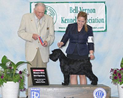 Kleine Hexe winning her first Major!