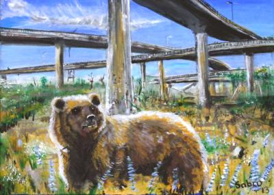 Freeway Bear