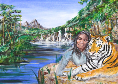 Lady and Tiger
