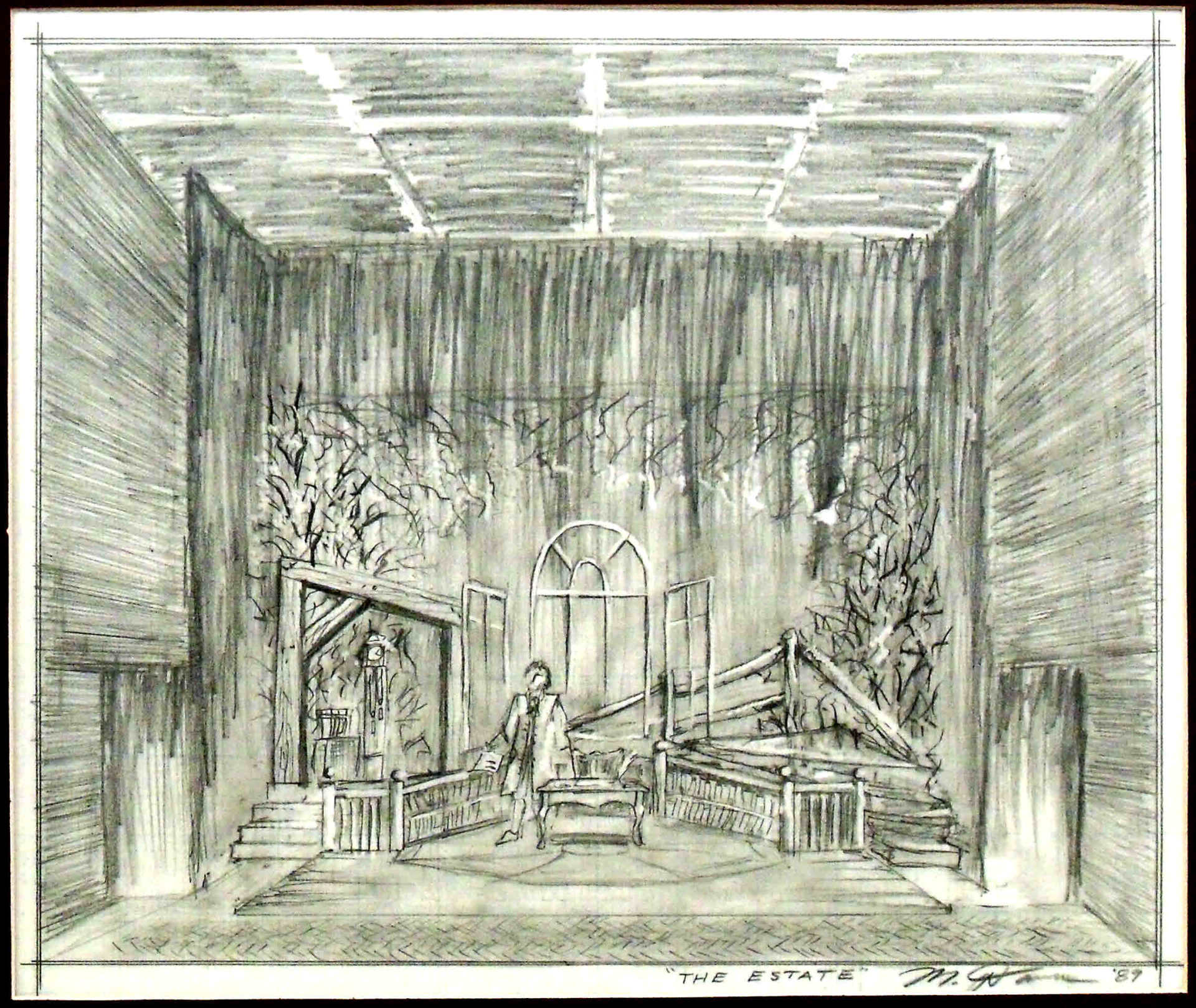 Stage Design Sketch