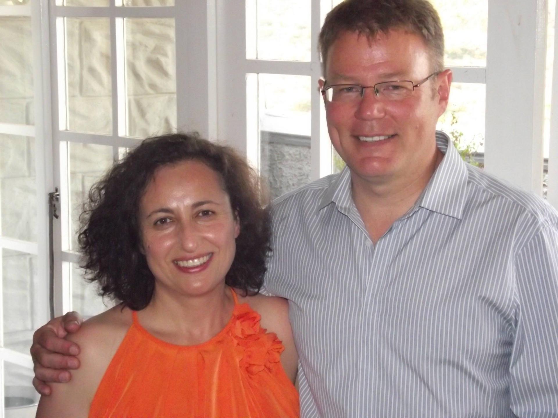 Pieter & Sharon Burger