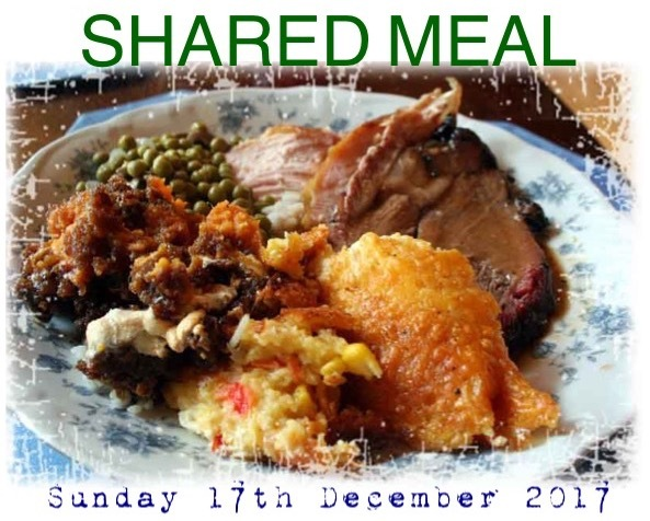Sunday 17th December 2017 - Shared Meal