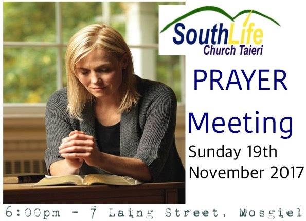 Sunday 19th November 2017 - 6:00pm Prayer
