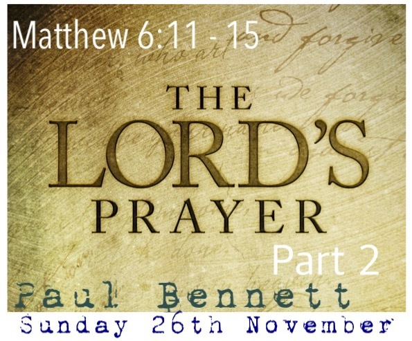 Sunday 26th November 2017 - 10am Service