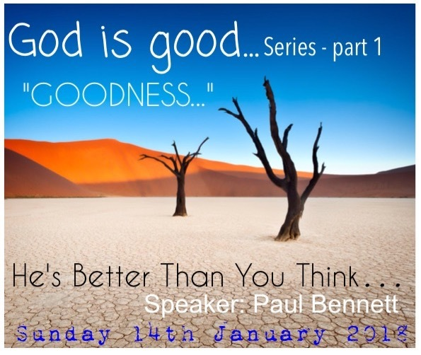 Sunday 14th January 2018 - 10am Service