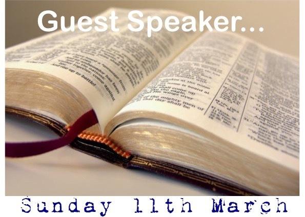 Sunday 11th March 2018 - 10am Service