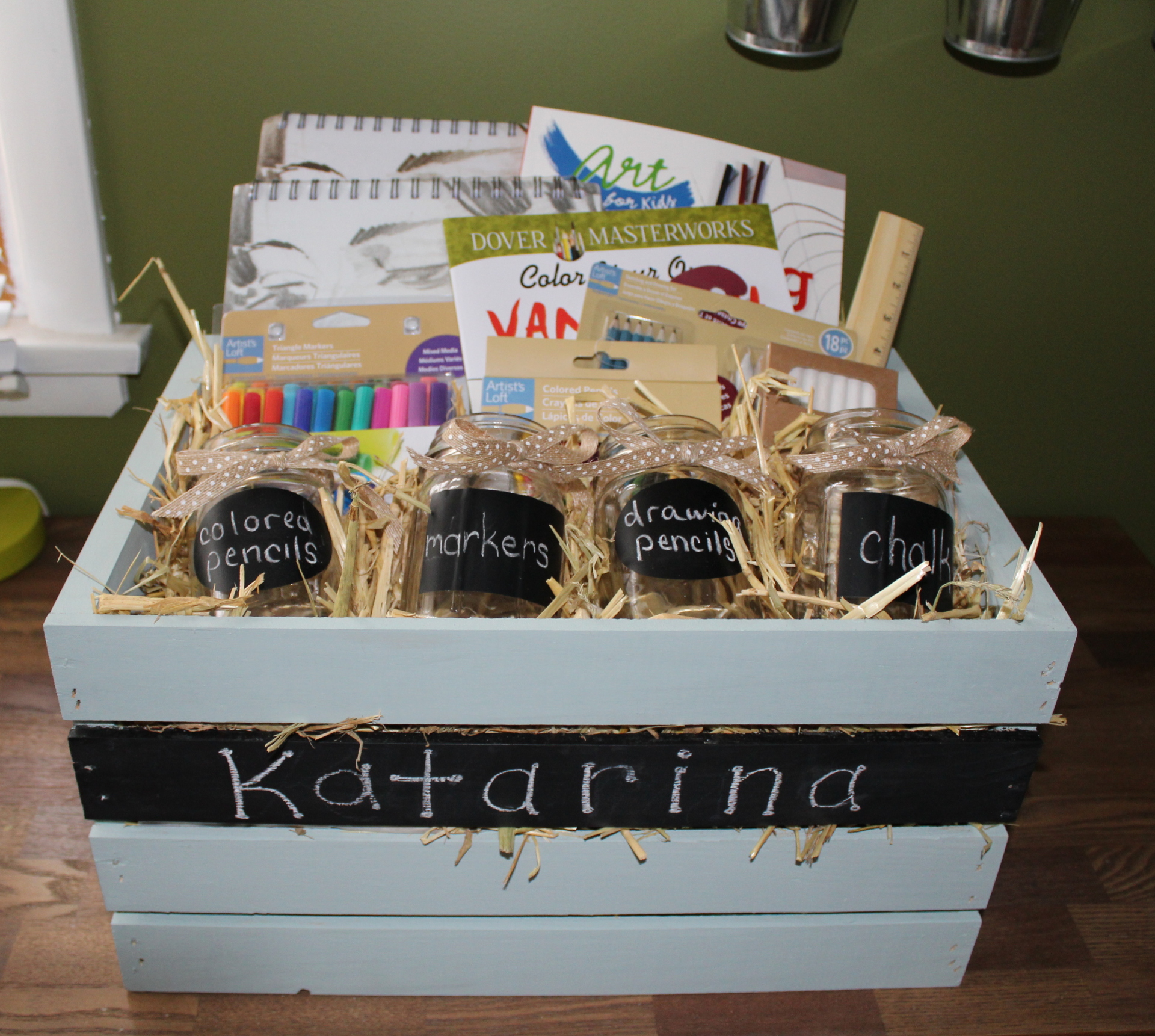 Young Artist's Gift Basket