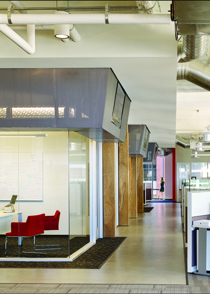 Quezada Architecture, QA, Cecilia Quezada, Ed Tingley, Fred Quezada, New Relic Office Headquarters