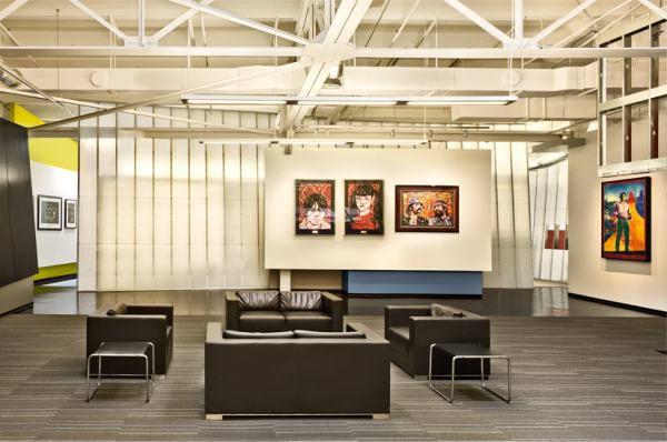 Quezada Architecture, QA, Cecilia Quezada, Ed Tingley, Fred Quezada, Live Nation Offices