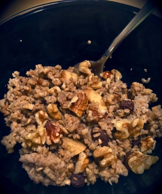 Overnight Apple Oatmeal