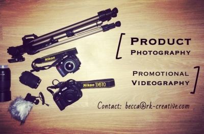 Product Photograhy and Promotional Videography