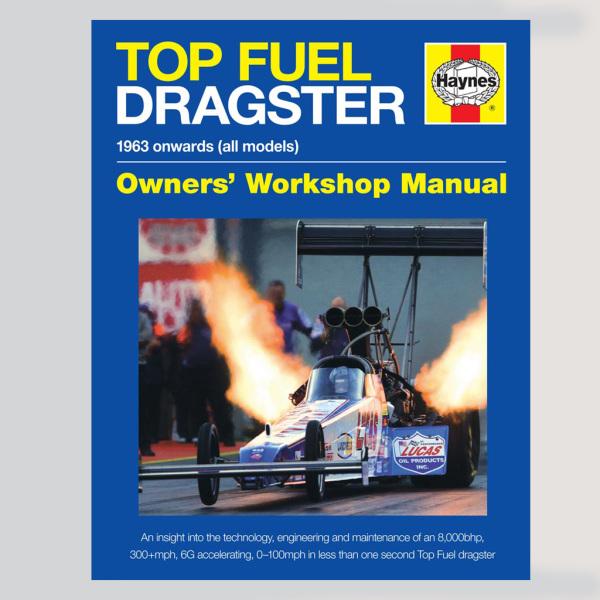 Haynes Top Fuel Dragster Book
