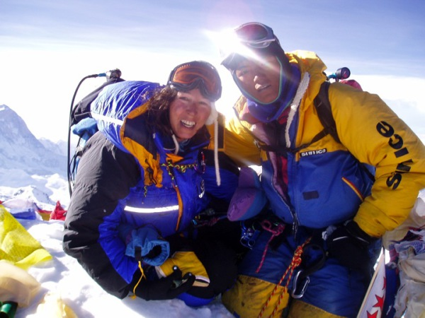 The 5th British woman to summit Everest