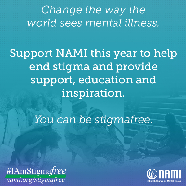 Take the Pledge to be Stigma Free