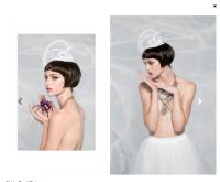 Disorder UK Magazine Headpiece by @chuchuny Photography: Jun Park Wardrobe Stylist: Yenifer Ubiera Fashion Stylist Makeup & Hair: Iris Kim  Hair Styling: Bleema Weissman  Model: Jassey Jaymes Law @Major Model Management