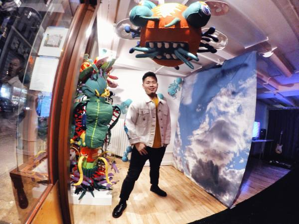 James Hsieh Solo Exhibition Opening Reception