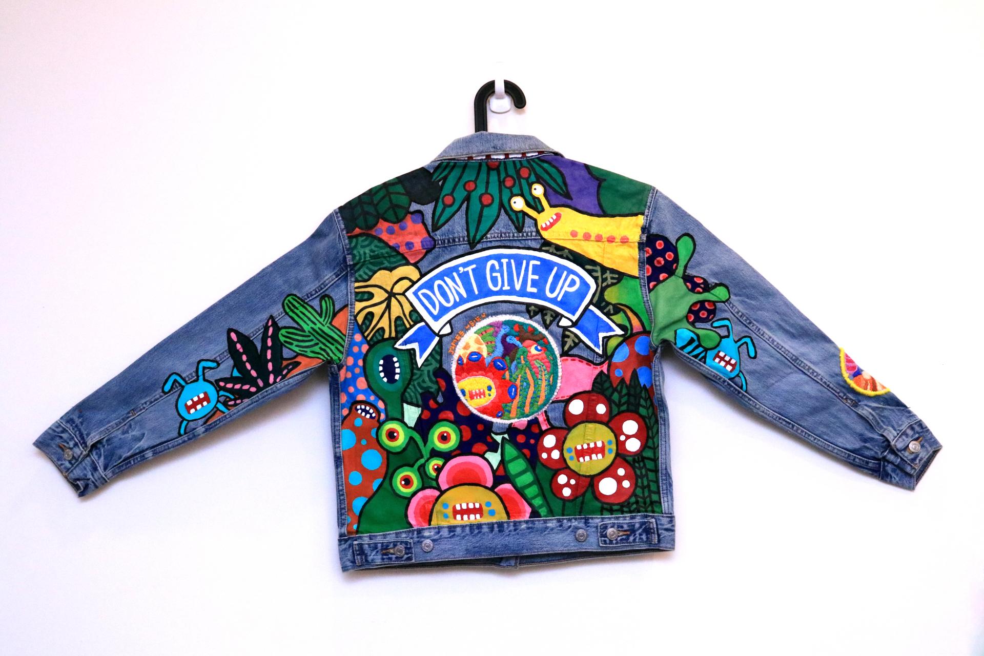 Denim Jacket Painting  2018