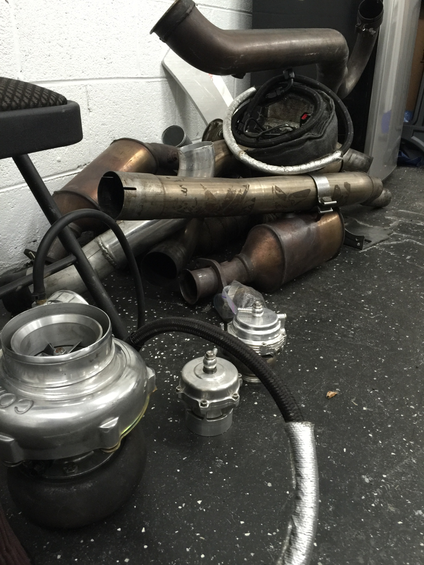 Turbo kit for a 2010 4.6 mustang.