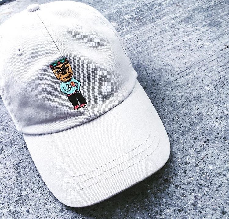 Tiki Harris Dad Hat