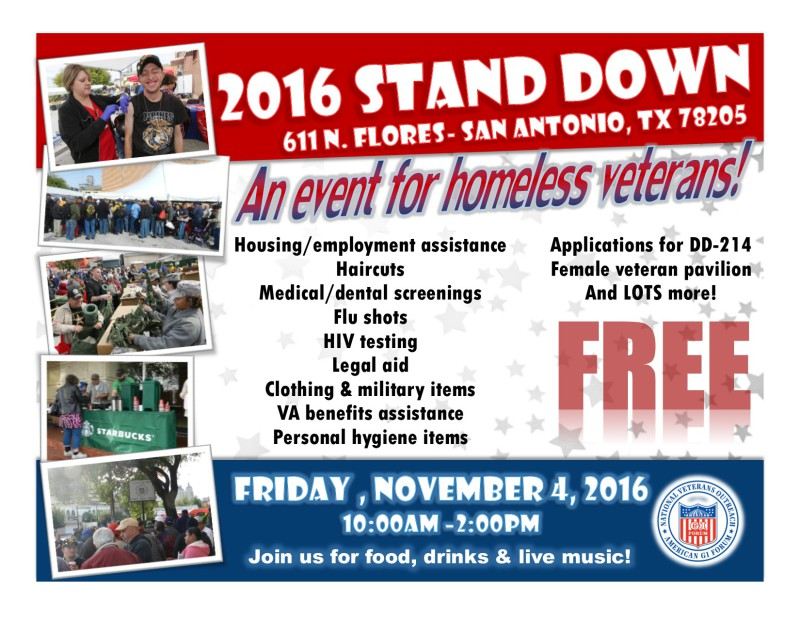 2016 STAND DOWN