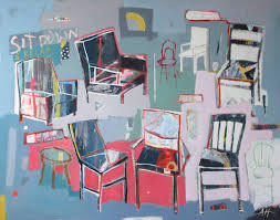If chairs could talk by Anna Hymas