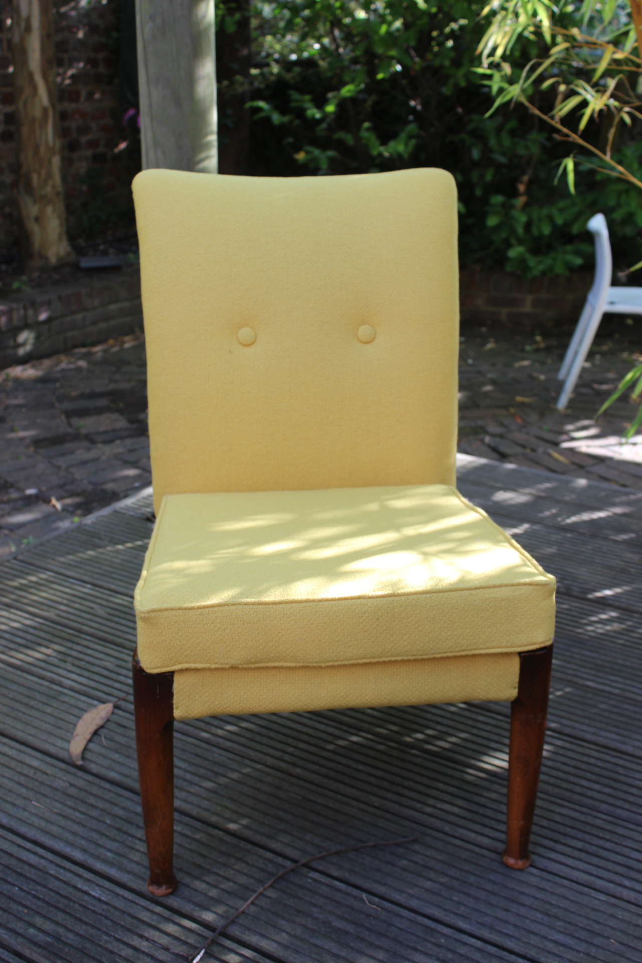 My 102 year old man's chair completed