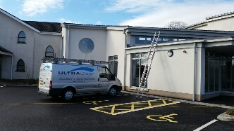 Commercial Window Cleaner Belfast