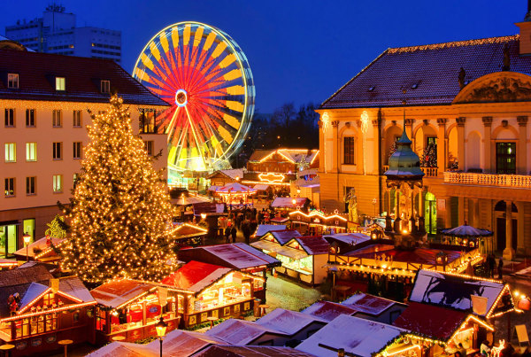 8 Ziemassvētku tirdziņi Eiropā