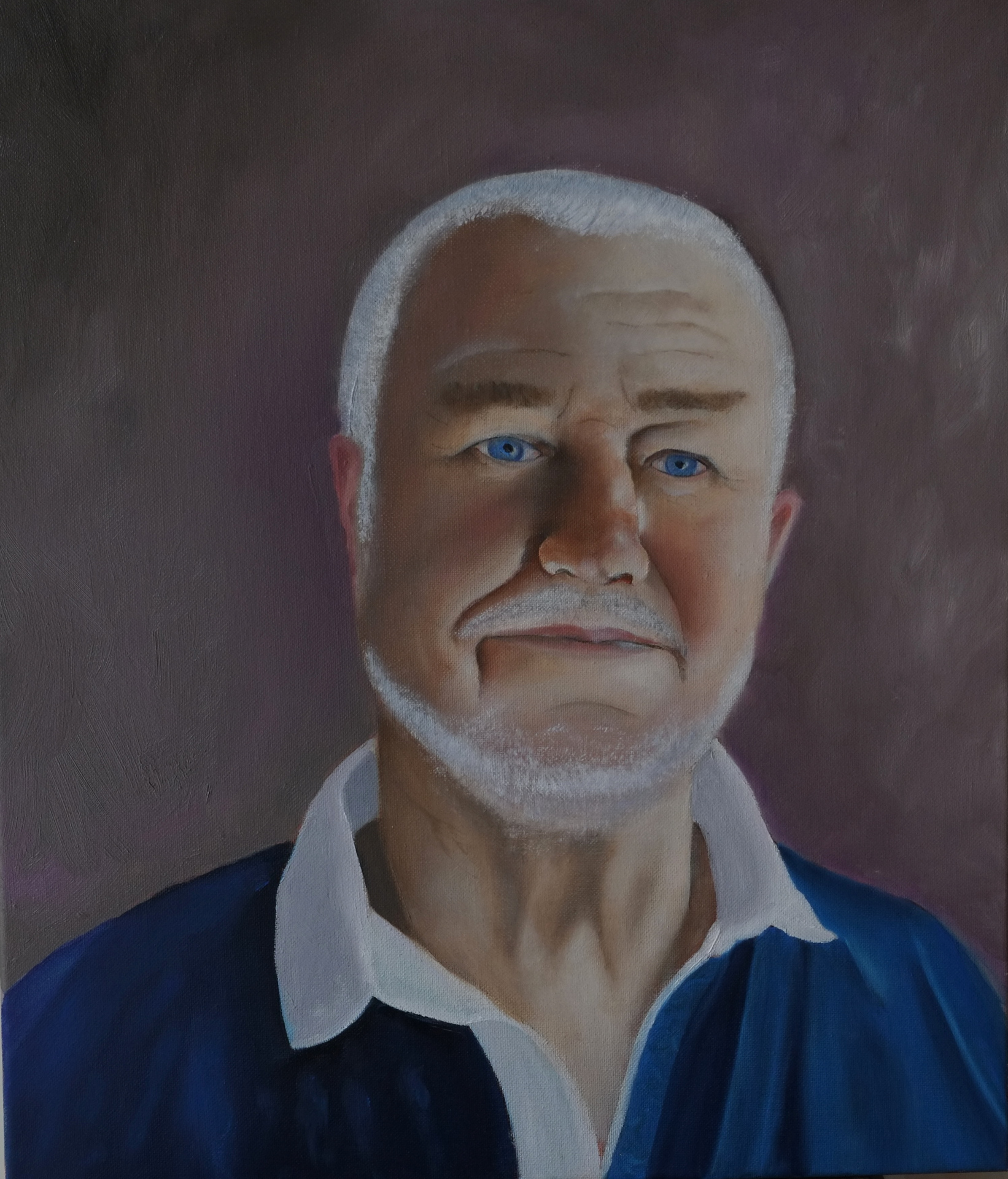 """Mon ami""  oil on canvas"