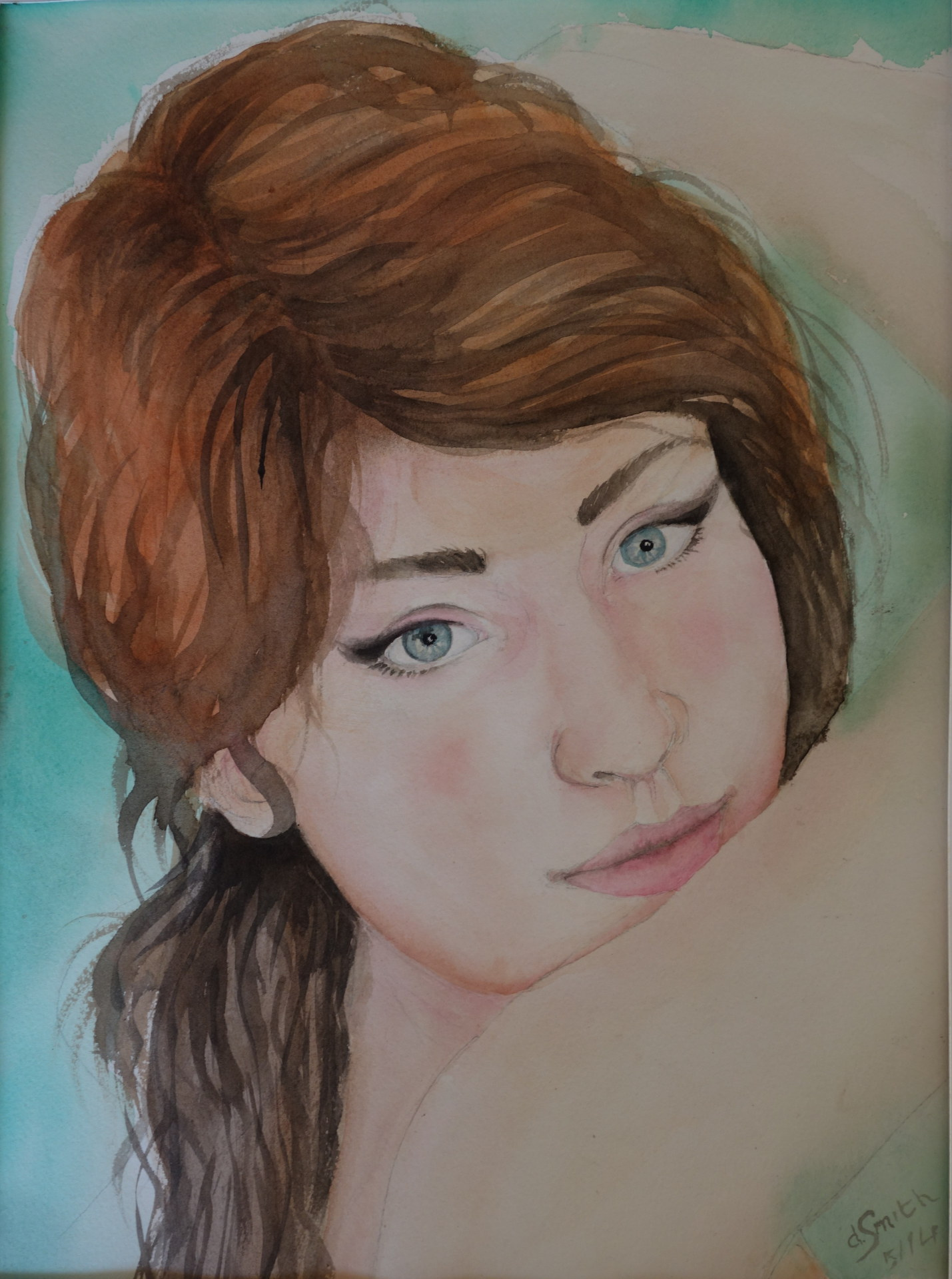 """Vanessa""  water colour 31x41"