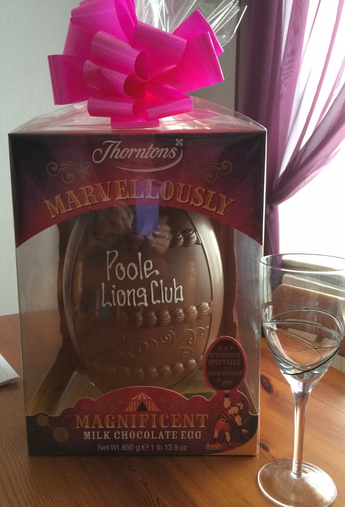 Thank you to our Easter Egg Raffle supporters