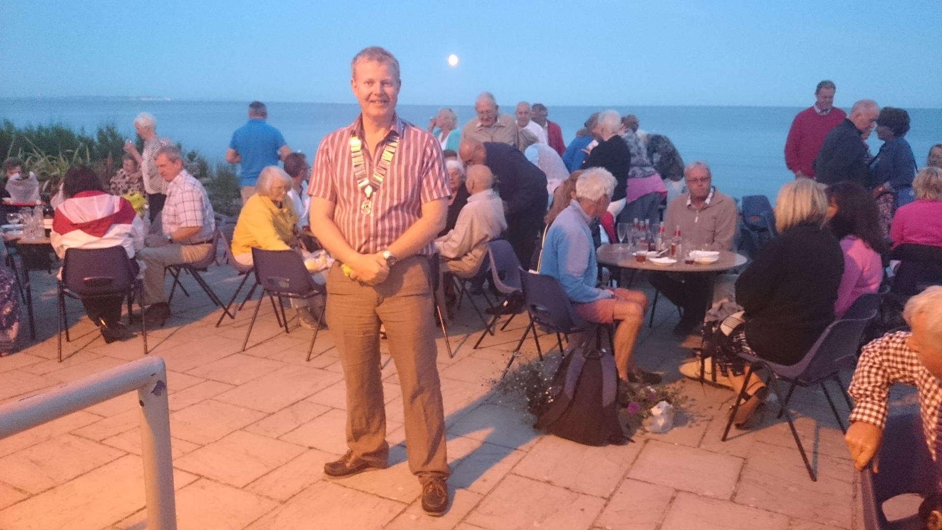 Fundraising for Chestnut Nursery with a BBQ at Branksome Dene Chine